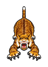 """Kite 59"""" Flying Sabre Tooth Tiger SkyZoo Dlx String, Winder, Tail.9. Bs 70802"""