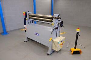 sahinler Initial pinch power  metal Bending rollers 1270mm x 90mm 2.5 mm vat inc