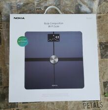 Withings Nokia Body+ Body Composition Wi-Fi Scale - Black Wifi brand new version