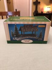 Lemax Coventry Cove Wooden Bridge With Trees Village Accessory Retired 2001