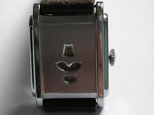 Reloj Pulsera Vintage Suizo Raro 15 Joya Manual Digital Deco Cepillos Reparado!