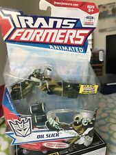 Transformers ANIMATED Deluxe OIL SLICK MOC 2009 Complete