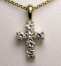 """18 - 19.99"""" Round VS1 Fine Diamond Necklaces & Pendants"""