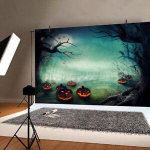 Halloween Christmas Backdrops Photo Background Studio Props Wall Decor Color