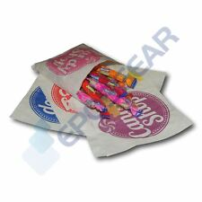 """100 Mixed 5"""" x 5"""" Candy Shop Paper Bags Sweet Favour Gift Party Cart Wedding"""