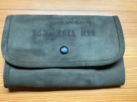 1940's/1950Vintage Canvas M10 Tool Roll  WWII/Korean War INV-V406