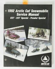1992 Arctic Cat Snowmobile Ext Special Prowler Shop Service Manual Oem 2254-733