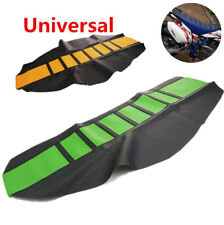 Universal Gripper Soft Motorcycle Seat Cover Protector For KTM SUZUKI Motocross