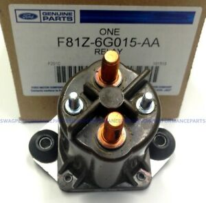 99-03 7.3L Powerstroke Diesel Genuine OEM Ford Intake Air Heater Relay F250 F350