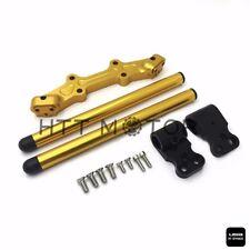 Clip-On Adapter Plate & Handlebars Set For Yamaha MT-07 FZ-07 2014-2017 Gold