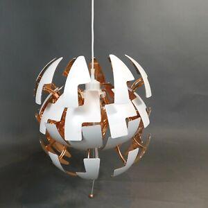 Ceiling Pendant Rose Gold Exploding Mechanism Modern Design Hang Lamp Ikea RTGJE