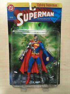 DC Direct Superman Series 1 Cyborg Superman Action Figure 2003 MOC Sealed
