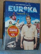 Eureka: Season 3.5 (DVD, 2010, 2-Disc Set)