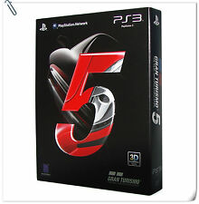 PS3 Gran Turismo 5 GT5 First Print Limited Edition SONY Racing Games SCE