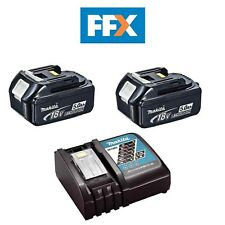 Makita BL1850X2DC18RC Twin LXT 18v 5.0AH Li-ion Battery and Charger