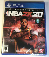 NBA 2K20 PS4 for Sony PlayStation 4 2020 BRAND NEW SEALED