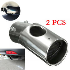 Silver Exhaust Muffler Tail Pipe Tip Tailpipe for Honda CRV CR-V 2017 EX-L Sport