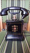 Kurbeltelefon, Bakelit, Jydsk Telefon Dänemark, KRISTIAN KIRKS TELEFONFABRIKKER