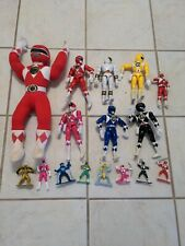 Power Rangers Lot pink red white yellow black blue