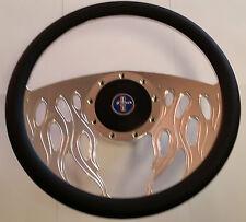 Ford Falcon Steering Wheel Billet Leather XM XP 1964 1965 1966 Coupe Sedan Wagon