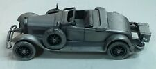 Danbury Mint Pewter - approx 1/43 scale - 1927 Lincoln Sportster Car
