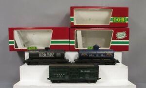 LGB 4080-W01, 4080-Y02 & 4068 Freight Cars [3]/Box