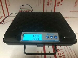 Salter-Brecknell GP250 Portable Electronic Utility Bench Scale + Adapter
