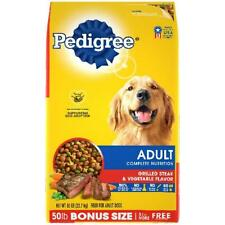 PEDIGREE Complete Nutrition Adult Dry Dog Food Grilled Steak & Vegetable Flavor,