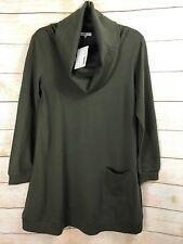Momo Maternity Sweater Cowl Neck Top Long Sleeve NWT Size S
