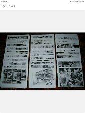 Butch Guice -130 Xerox Copies Captain America, Aquaman, Iron Man, Skaar, etc #1