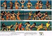 Publicité Advertising 1973 (2 pages) Les Maillots de bain Huit 8