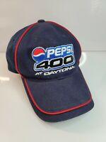 Chase Nascar Pepsi 400 Daytona Mens Cap Hat Navy Blue Racing Adjustable