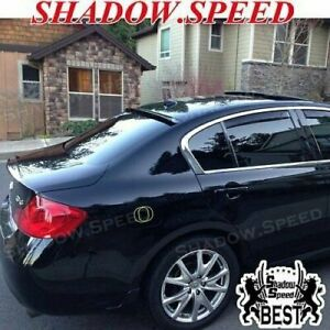 Stock 280 BRS Rear Roof Spoiler Wing For 07~13 INFINITI G35 G37 G25 Q40 sedan