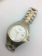 Rotary Mens Two Tone Watch Stunning Bracelet Strap RRP £300