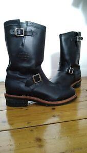 "Chippewa 1901M48 11"" Engineer Boots"