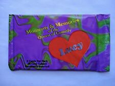 1995 KRC *LUCY: MOMENTS & MEMORIES* SEALED FOIL PACK