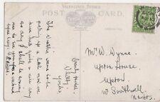 Mr. W. Wynne, Upton House, Upton, Southwell, Nottinghamshire 1912 Postcard, B398