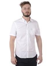Burberry Shirt CAMBRIDGE Cotton Man White 4004720