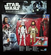 STAR WARS BAZE MALBUS + IMPERIAL STORMTROOPER ROGUE ONE ACTION FIGURE 2 PK RARE