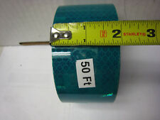 """3M BRAND  2"""" x 50 FEET HUNTER GREEN PRISMATIC REFLECTIVE CONSPICUITY TAPE"""