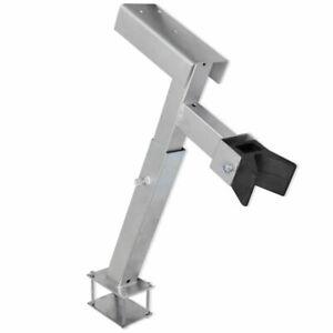 vidaXL Windenstand Windenbock Bugpuffer Gurtwinde Bootsanhänger Bootstrailer