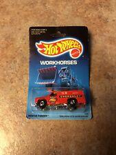 Hot Wheels Work Horses Rescue Ranger~1989~NIP