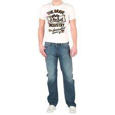 BNWT MENS/BOYS GENUINE DIESEL TRIVI T SHIRT - WHITE - SIZE S. WILL FIT 14-16 YR
