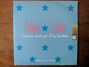 Baby Love musica CD carezze sonore per il tuo bambino ninna nanna