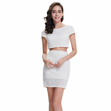 Polyester Formal Solid Wrap Dresses
