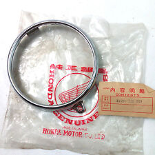 Honda CB100 CB125 S110 S90Z XL100 CL100  HeadLight Rim NOS