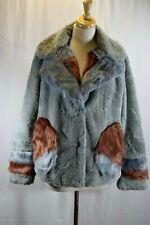 GUESS Faux Fur Jacket Coat Size M #B624