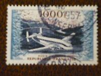 FRANCE 1954 1000fr Breguet BR 763 Air issue vf used SG  1197