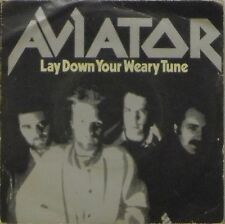 """AVIATOR 'LAY DOWN YOUR WEARY TUNE' UK PICTURE SLEEVE 7"""" SINGLE"""