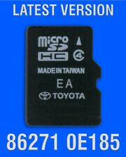 2013-18 TOYOTA NAVIGATION MICRO SD CARD 86271-0E185 OEM GENUINE 2018 UPDATE